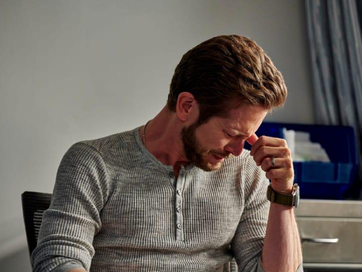 Conrad has a hard time saying goodbye to Nic.